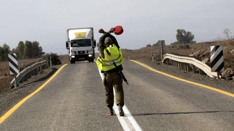 Entrenamientos militares en los Altos del Golán