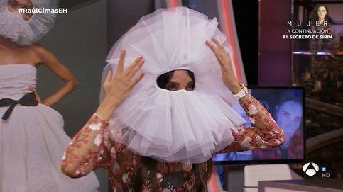 Pilar Rubio y su vestido transparente en 'El hormiguero', crean sensación