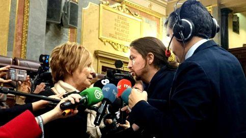 Pablo Iglesias y Celia Villalobos se enzarzan en el Congreso por la corrupción