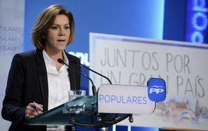 El extesorero, los candidatos y Aznar marcan el cónclave del PP