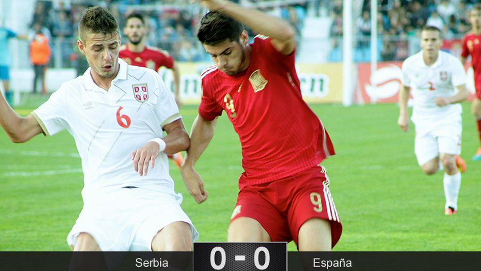 La Rojita se atasca en Serbia y se jugará la clasificación en la vuelta