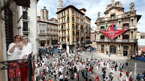 El 'no San Fermín': sin chupinazo, sin fiesta, sin alcohol y sin política... y con mascarilla