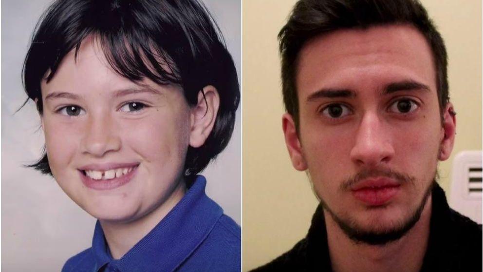 De niña a hombre: 1.400 'selfies' para mostrar su cambio tras el tratamiento