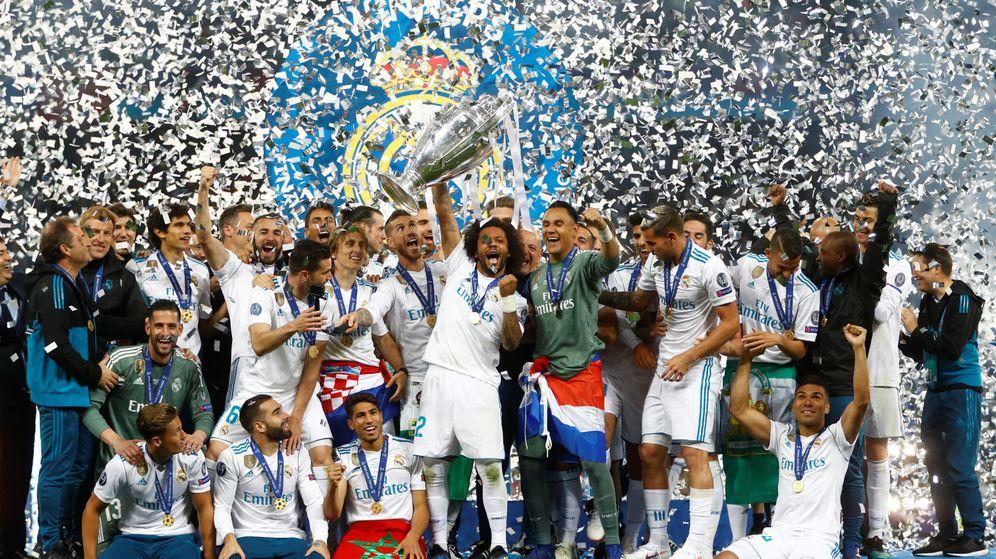 Foto: Tres Champions seguidas, cuatro en los últimos cinco años, 13 en total. (Reuters)
