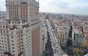 Pisos de lujo en el Edificio España