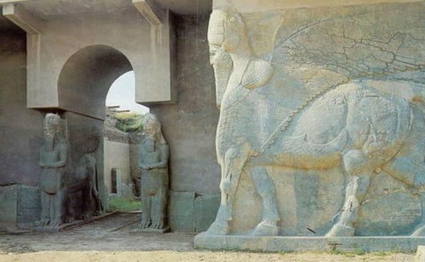 Foto: Una vista de las ruinas asirias de Nimrud, al norte de Irak. (UNESCO)