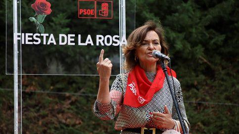 La ley estrella de Carmen Calvo entra en el Congreso derrapando