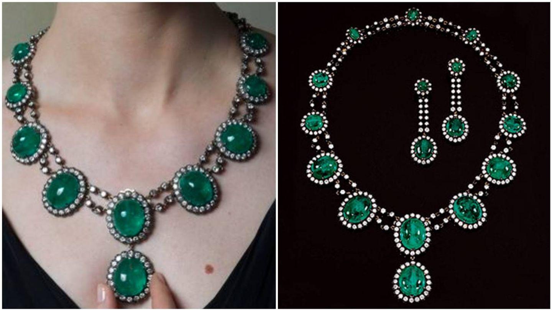 Las fotos oficiales de las joyas, facilitadas por la casa de subastas Sotheby's. (EFE)