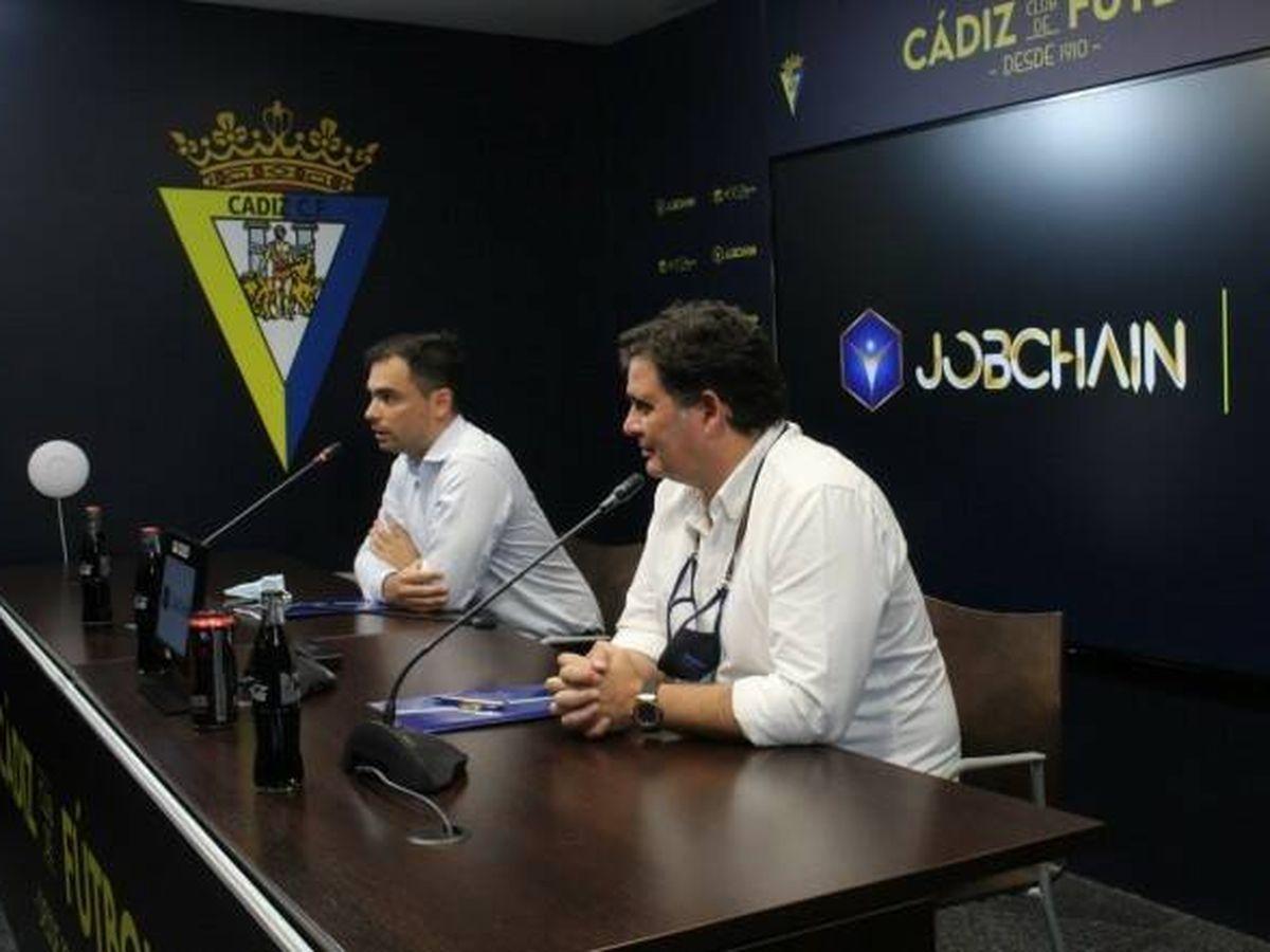 Foto: El Cádiz, primer equipo de LaLiga en estar patrocinado por una criptomoneda (Cádiz CF)