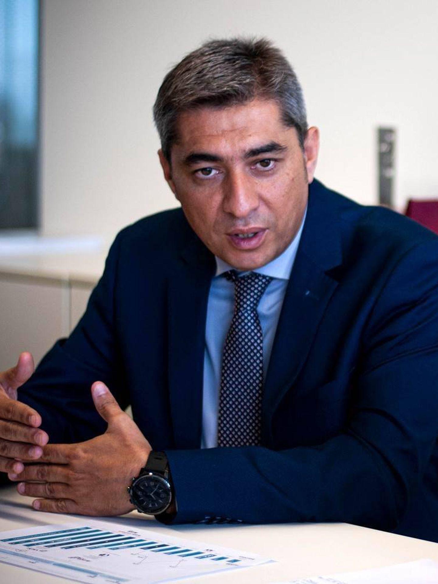 Roberto García, director de Planificación y Control de Gestión de Grupo Avintia. (Carmen Castellón)
