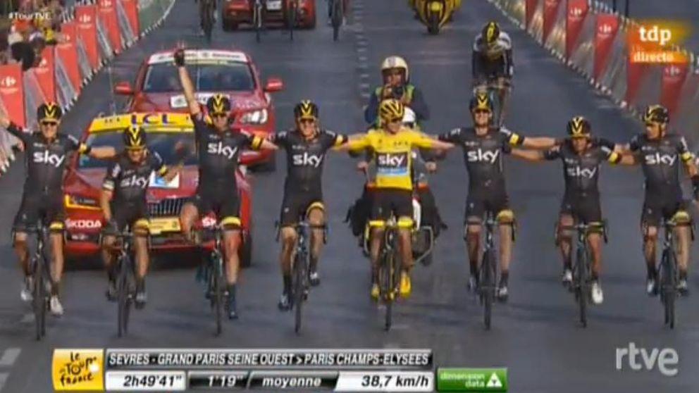 El segundo amarillo para Froome y cuarta etapa para Greipel en París