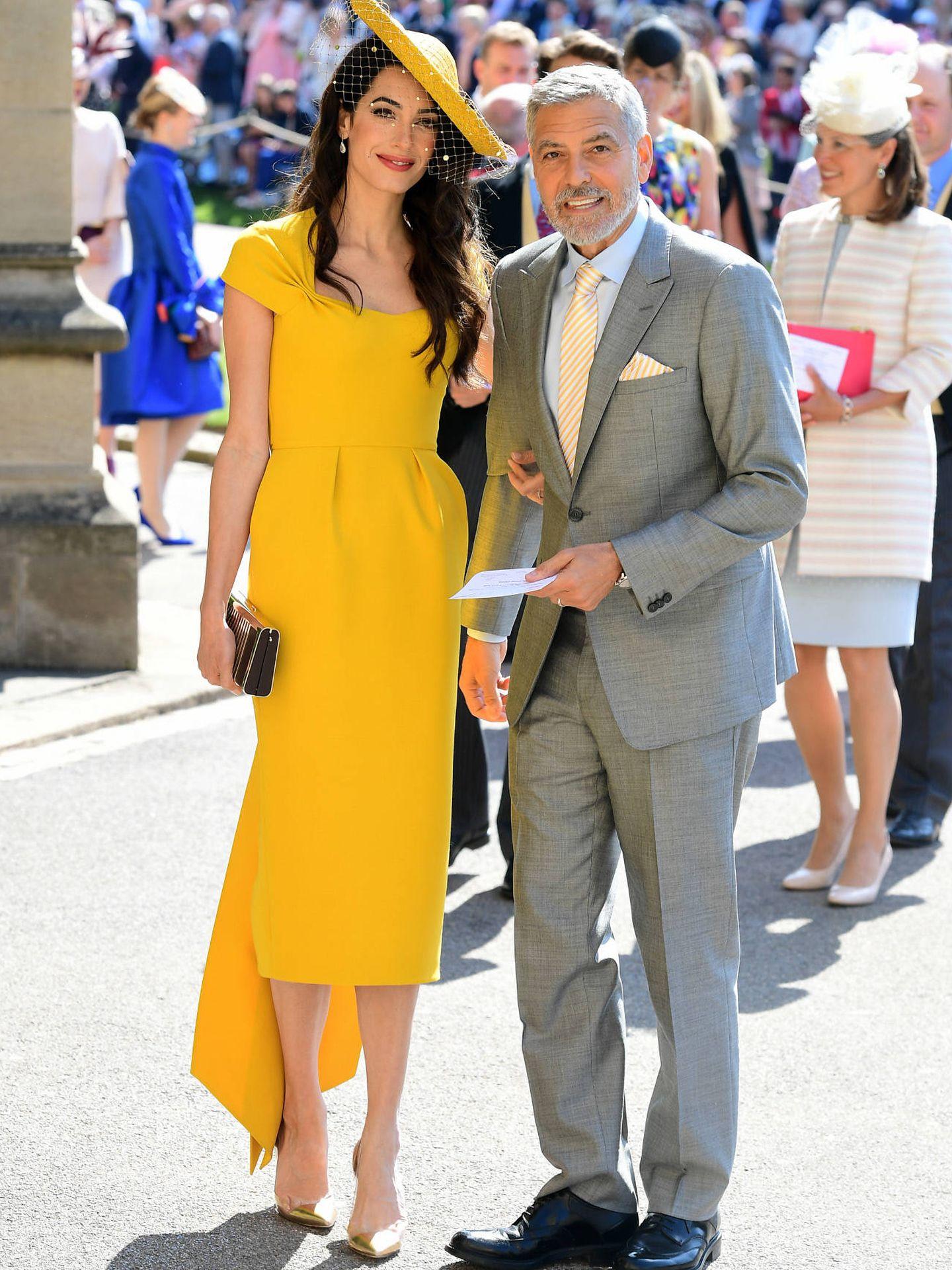 Amal Clooney ha eclipsado a su marido. (Gtres)