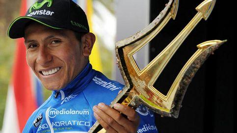 Quintana, campeón de la Tirreno tras una crono que ganó Cancellara