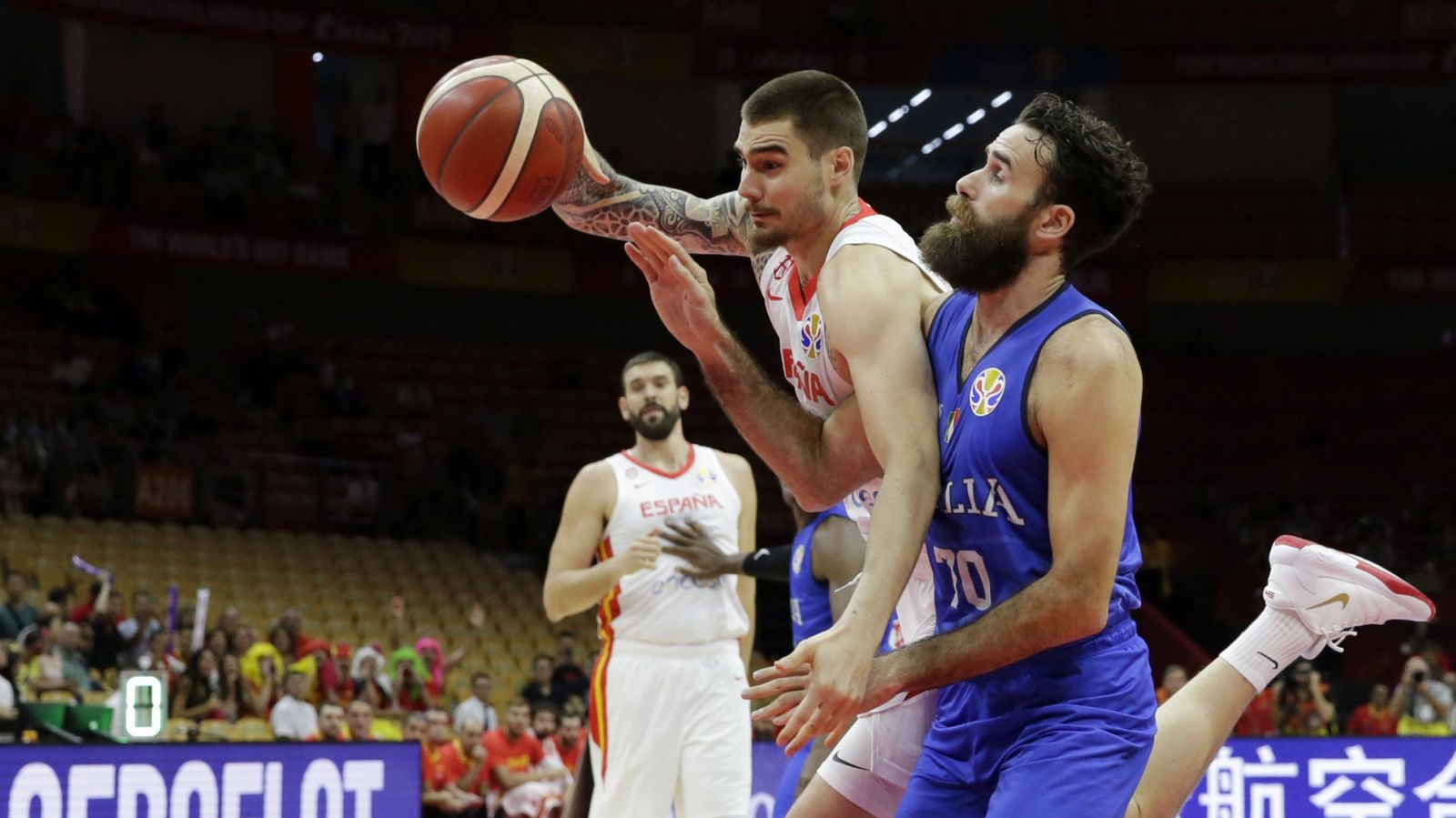 Foto: Basketball - fiba world cup - second round - group j - spain v italy