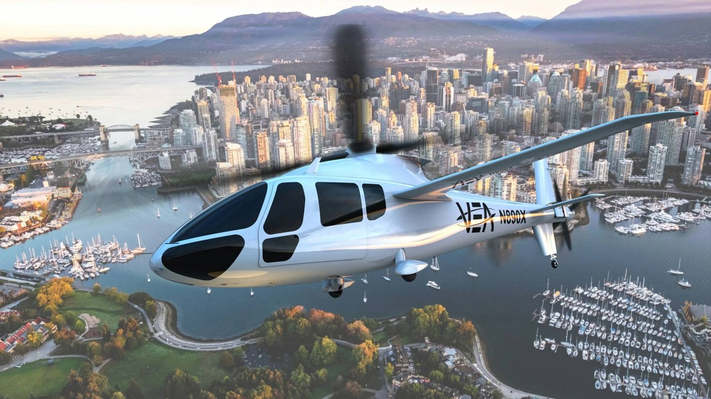 El helicóptero PA-890 EVTOL (Piasecki)