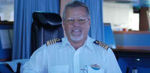 Foto: Un día en la vida de Gronhaug, el capitán del crucero más grande del Mediterráneo