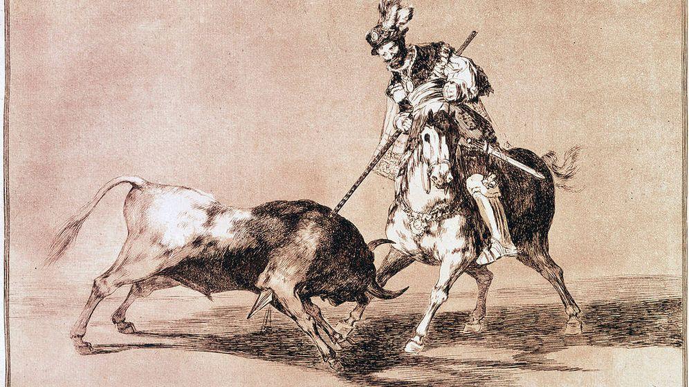 Foto: El Cid Campeador lanceando otro toro, Tauromaquia, Francisco de Goya (CC)