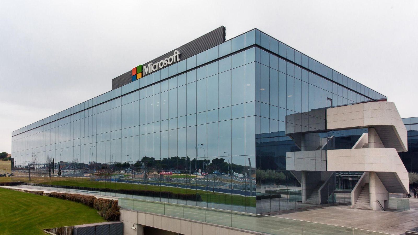 Ni futbol n ni sala de descanso as son por dentro las oficinas de microsoft - Trabajo arquitecto madrid ...