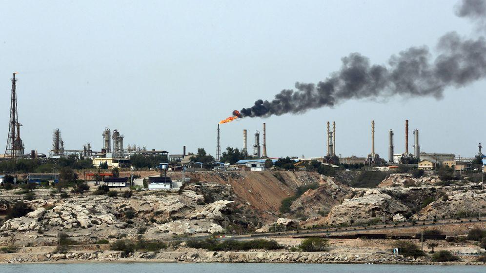 Foto: Una planta de petróleo en Irán. (EFE)