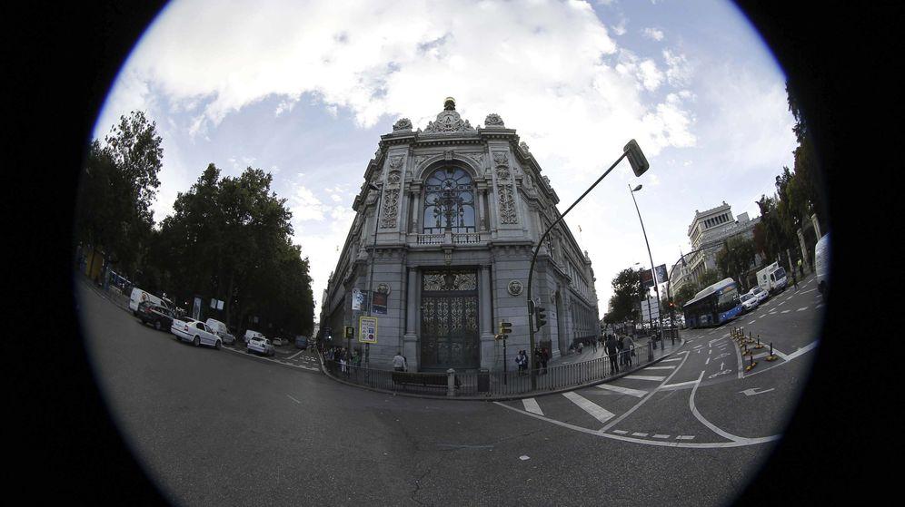 Foto: Sede del Banco de España, en la plaza de Cibeles de Madrid. (EFE)