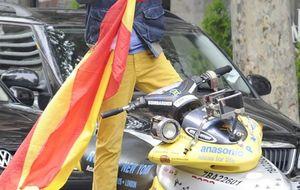 Foto: Marichalar, en moto acuática por Madrid