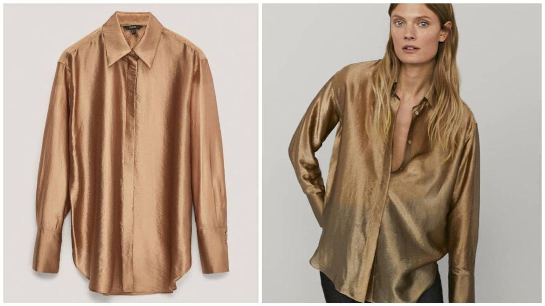 Camisa de nueva colección de Massimo Dutti. (Cortesía)