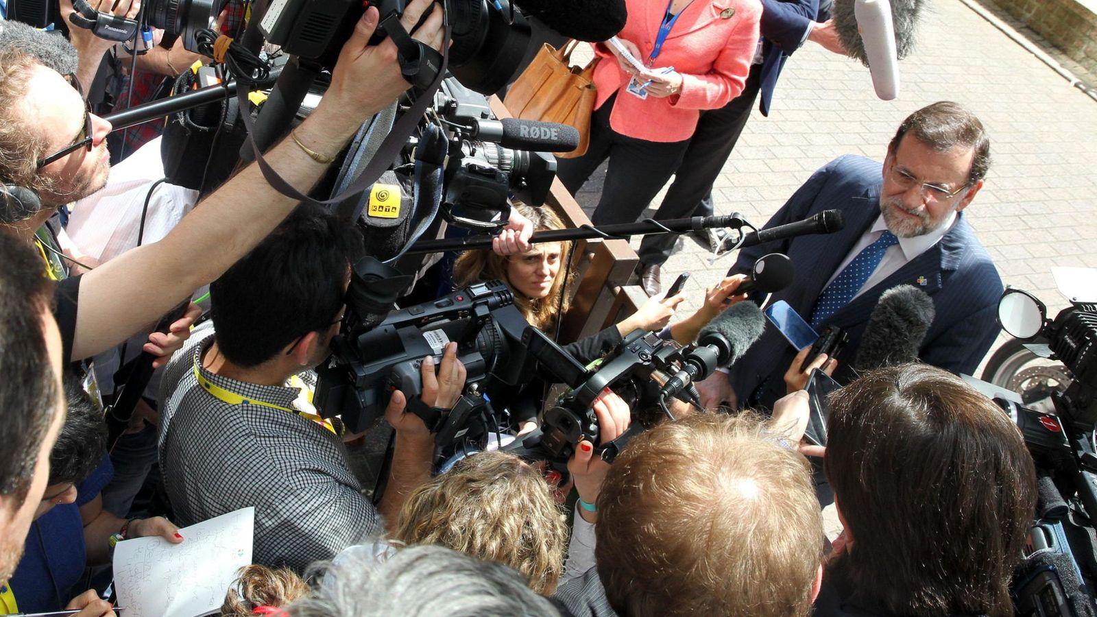 Foto: Mariano Rajoy en Bruselas. (EFE)