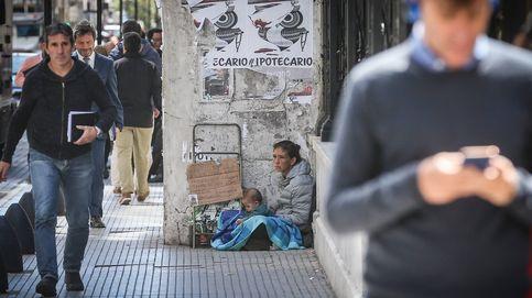 Caída del PIB del 2,5 % en Argentina