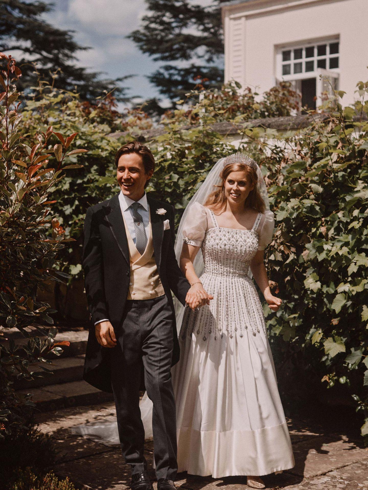 La princesa Beatriz y Edo Mapelli, el día de su boda. (Reuters)