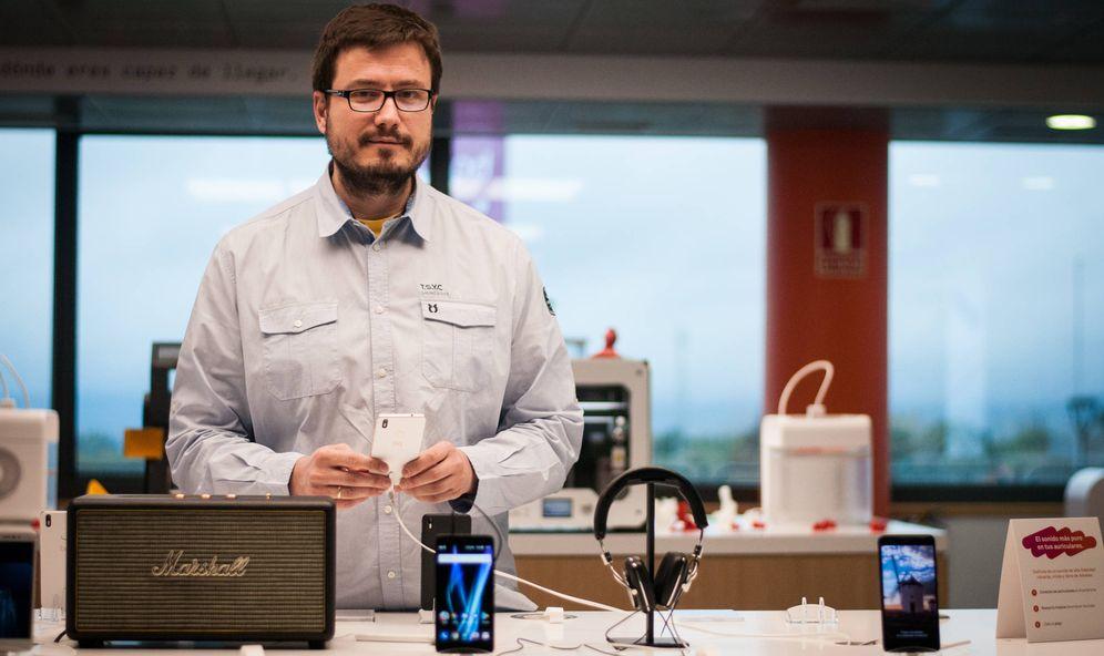 Foto: Alberto Méndez, CEO de BQ. (Carmen Castellón)