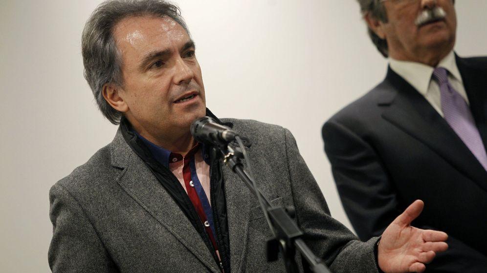 Foto: El empresario y presidente de Catalunya Acció, Santiago Espot, fue el organizador de la pitada. (EFE)