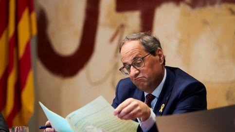 Torra ve una grave irresponsabilidad adelantar las elecciones en Cataluña