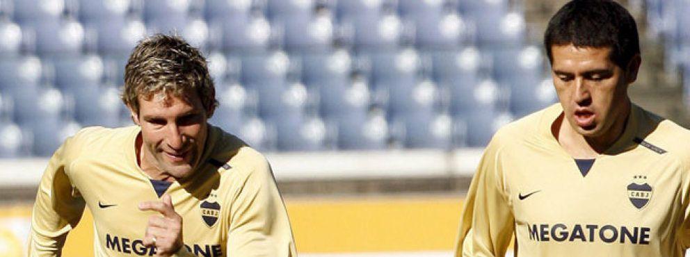 Foto: Riquelme III, el Rey de Boca Juniors