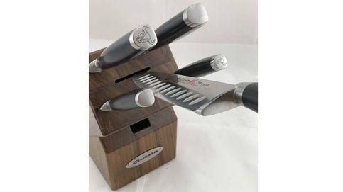 Corte con clase: la línea de cuchillos Moaré reinventa la cocina