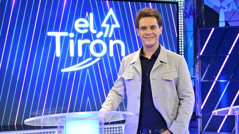 Foto: Christian Gálvez, presentador de 'El tirón' en Telecinco. (Mediaset)