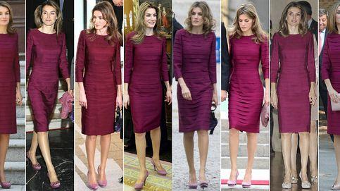 Letizia demuestra que un buen (y carísimo) vestido es para toda la vida