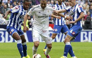 Cómo mantener el nerviosismo en el Madrid y puntuar en su casa