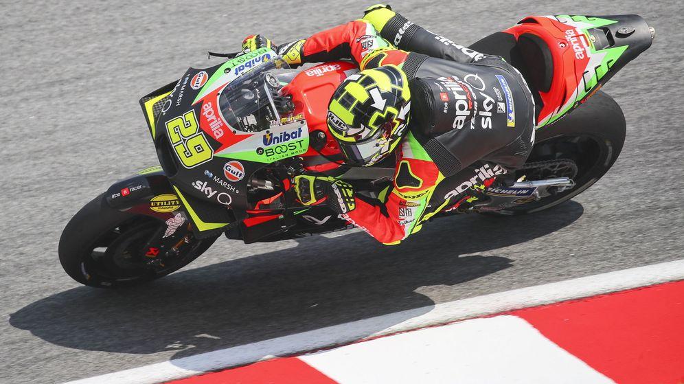 Foto: Andrea Iannone dio positivo en el Gran Premio de Malasia 2019. (EFE)