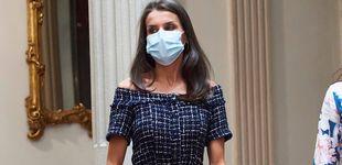 Post de La reina Letizia recupera un vestido de Zara que lo tiene todo