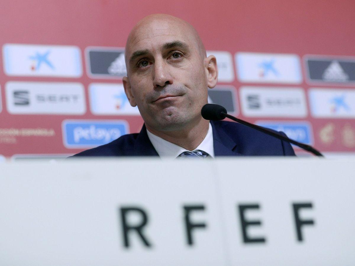 Foto: Luis Rubiales, presidente de la RFEF, en una imagen de archivo. (EFE)