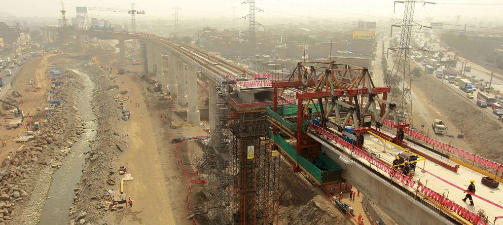 ACS y FCC vencen al gigante Odebrecht y construirán la línea 2 del Metro de Lima