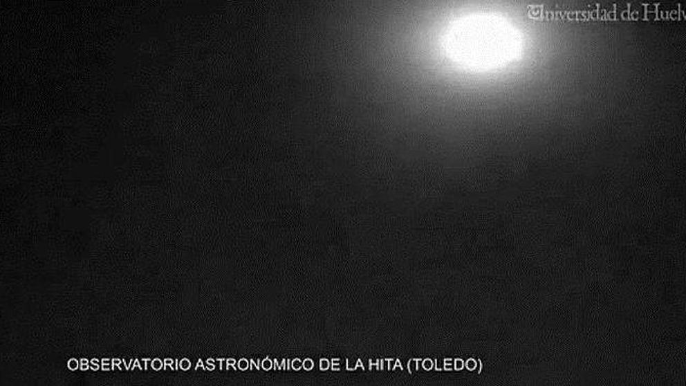 Una bola ígnea sobrevuela Toledo al desintegrarse un asteroide