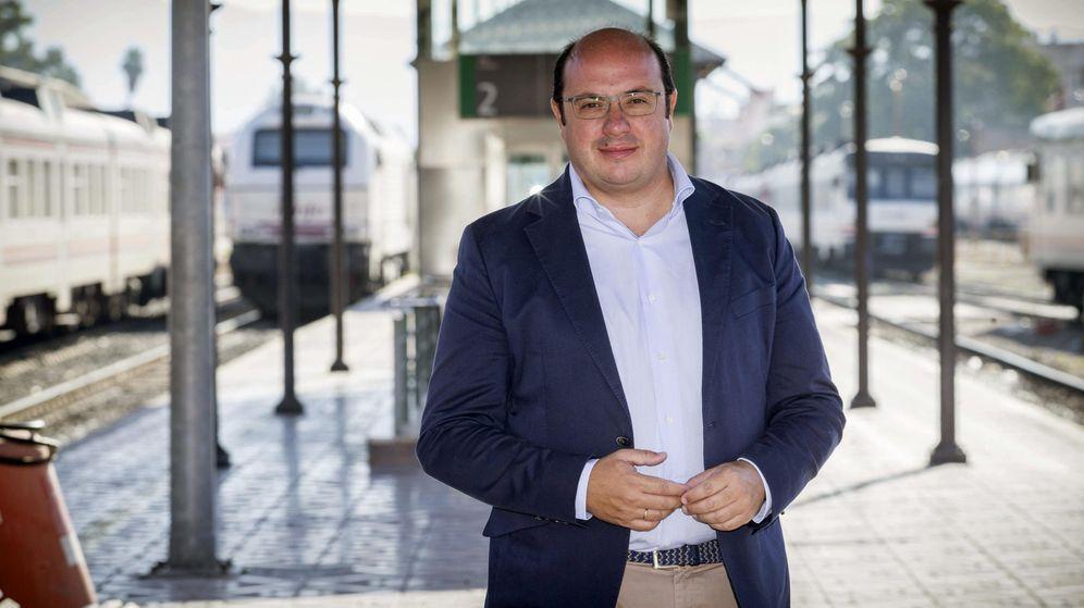 Foto: .- El presidente de la Región de Murcia, Pedro Antonio Sánchez. (Efe)