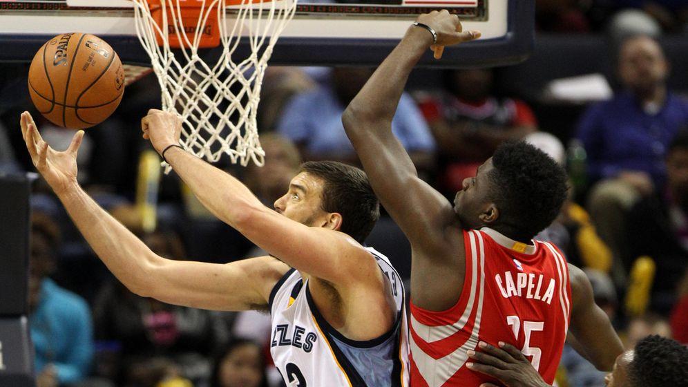 Foto: Marc Gasol firmó el primer 'triple-doble' de su carrera en la NBA.