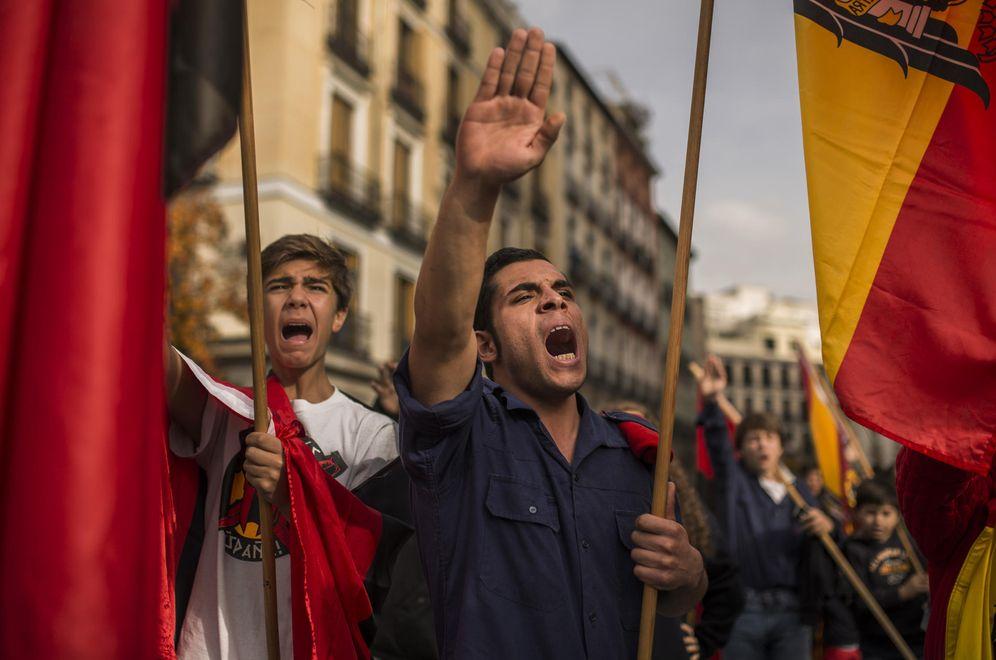 Foto: Manifestación en Madrid el 20-N de 2014 (AP)