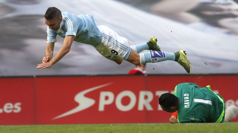 Foto: Keylor Navas volvió a ser, una vez más, el mejor del Madrid (EFE).
