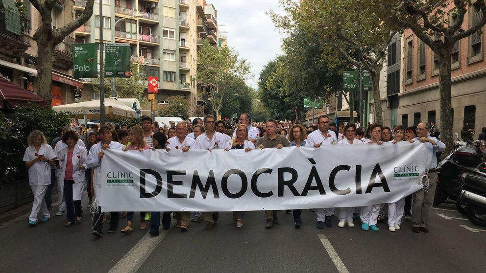 El 'procés' toma el mejor hospital de Cataluña: Parecen talibanes y no doctores