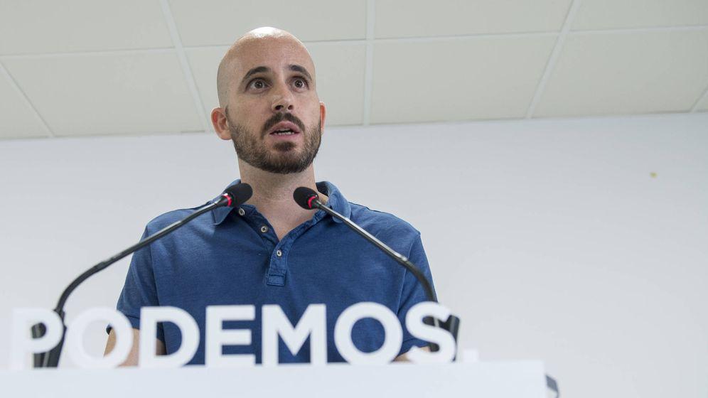 Foto: Nacho Álvarez, secretario de Economía de Podemos. (Podemos)