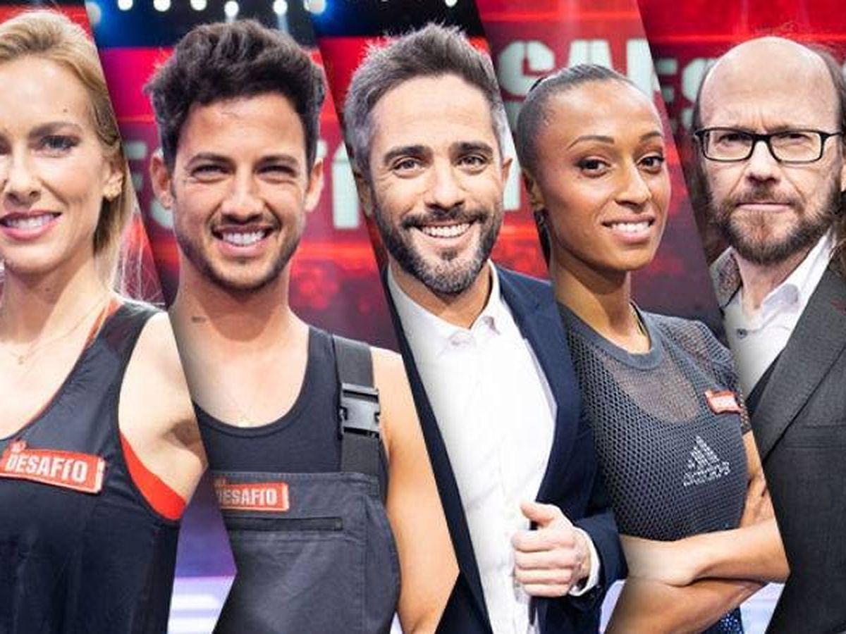 Foto: Parte del equipo de 'El desafío'. (Atresmedia Televisión)
