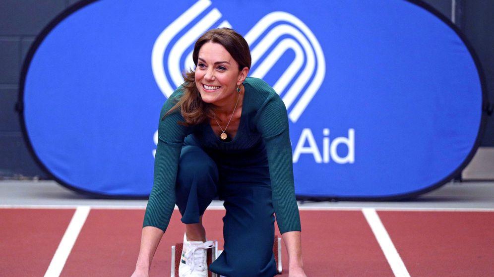 Foto: La duquesa de Cambridge, este miércoles en Londres. (Reuters)
